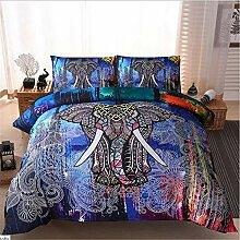 hhlwl Bettwäsche Set Indischen Stil Bettwäsche