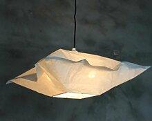 HHORD Cloth Nordic Restaurant Kronleuchter Lampenschirm einfache Papierlampe Wohnzimmerbeleuchtung kreative Studie Raumbeleuchtung