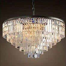 HHORD Kristall Anhänger Industrielle Mode 1 Lampe