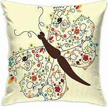 HHOWE Nursery Throw Pillow Cushion Cover,Artistic