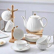 HHXX Teapot, 6 Weiße Englische