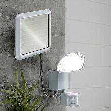 HI LED-Solar-Gartenleuchte mit Bewegungsmelder