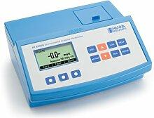 hi83206–02–Photometer-Werkbank multiparametro Serie 2008Für Kontrollen Umwelt (24Parameter) mit Display Grafikkarte, komplett mit Zubehör
