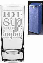 HiBall Gin Tonic Vodka-Glas mit Gravur/bedruckt,