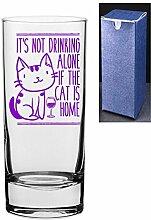 HiBall Gin Tonic Vodka-Glas mit Gravur und