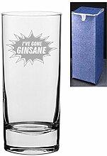 HiBall Gin Tonic Wodka-Glas mit Gravur und