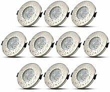 HiBay® 10Stk LED Einbaustrahler Ø55-75mm IP44