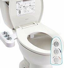Hibbent WC Bidet, Cold/Heiß Water Bidet Dusch-WC