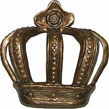 Hickory Manor House Bett Krone, antik gold