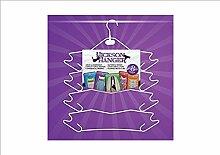 Hickson Kleiderbügel–Instant Storage Lösung–Kleiderbügel, BH Kleiderbügel, Kleiderbügel–Kleiderschrank Aufbewahrung Kleidung, Krawatten, Schals, Gürtel