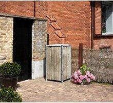 HIDE Hide Mülltonnenbox 240l Holz,natur,
