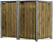 HIDE, Mülltonnenbox, aus Holz, 139x115x81cm