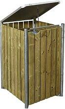 HIDE, Mülltonnenbox, aus Holz, 70x115x81cm