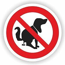 Hier kein Hundeklo / VER-04 / Sicherheitszeichen /
