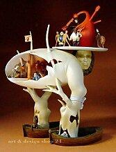 HIERONYMUS BOSCH - 'Baummensch' - XL - MUSEUMS Skulptur - aus 'Garten der Lüste'
