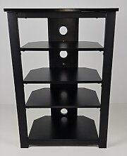 Hifi Rack ClearAmbient Farbe: Schwarz