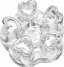 hifuture Glasstövchen Stövchen Teewärmer