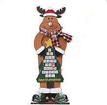Hifuture Weihnachts Adventskalender Schmuck Zum