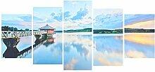 High Definition Spray Wandmalerei Wulian See Und