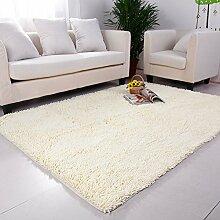 High-Density und Super saugfähigen Teppich/Couchtisch Wohnzimmer Schlafzimmer Teppich/ schönes Bett Teppich-F 120x160cm(47x63inch)