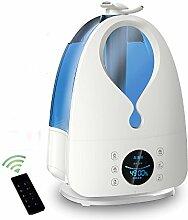 High-End-home-Office Business Intelligence kreative Mikro-Computer-Fernbedienung negative Ionen reinigen Luftbefeuchter Luftbefeuchter,Blau
