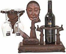 High-End-Weinregal, Weinglas Rack Becher auf den
