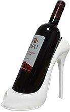 High Heel Form Weinflaschenhalter Stilvolle Wein