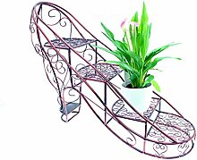 High Heel Pflanzenregal Blumenregal Ständer Ablage Gartenregal Pflangenablage