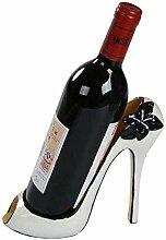 High Heel Weinflaschenhalter, stilvolles