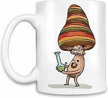 High mushroom Kaffee Becher
