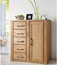 Highboard aus Wildeiche Massivholz