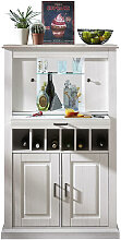 HIGHBOARD foliert Taupe, Pinienfarben