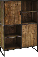 HIGHBOARD Kiefer, Recyclingholz massiv antik