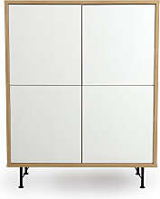Highboard - Minimal - Weiß