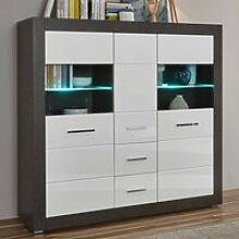 Highboard mit LED-Beleuchtung ETON-61 in