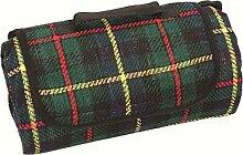 Highlander Uni Blanket Picknickdecke kariert One