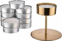 HIGHLIGHT Kerzenhalter & Maxi Teelicht-Set