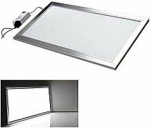 Highpower LED Panel Ultraslim Warmweiß Neutralweiß Weiß120x30cm 60x30cm 30x30cm SLIM Lampe Leuchte (30 X 60 CM, Weiß)