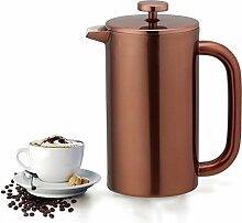 Highwin Kaffeepresse, doppelwandig, isoliert, aus