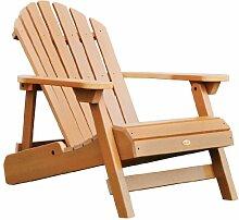 Highwood AD-CHL1-TFE Folding und Zurücklehnen Erwachsene Adirondack Chair, toffee
