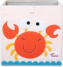 Hihey Textil Faltbox Spielbox Tiermotive Frosch