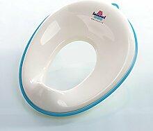 Hilfstoilettensitz, Kindertoilette Baby Toilette Töpfchen Ring dicker Toilette männlichen und weiblichen Baby ( farbe : Blau )
