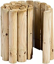 Hillhout 8711375011127Rand Rolle, Holz Natur,