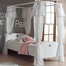 Himmelbett Amori Kinderbett Bett Jugendzimmer Weiß