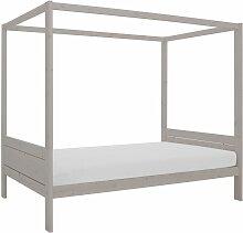 Himmelbett Style, 120x200 cm, grau