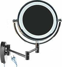 HIMRY® LED Wandspiegel KosmetikSpiegel 8,5 Zoll
