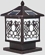 Hines Antike Garten Licht Solarenergie Tür Licht