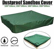 HINMAY Green Sandkasten-Abdeckung, mit Kordelzug