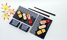 Hinomaru Collection 6-teiliges Sushi-Set,
