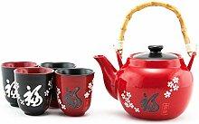 Hinomaru Collection Keramik-Teekanne im